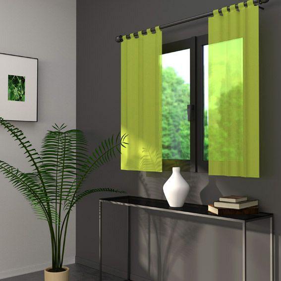 rideau et voilage style zen eminza. Black Bedroom Furniture Sets. Home Design Ideas
