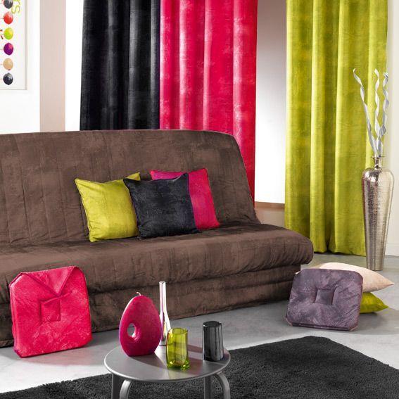 housse de clic clac opak chocolat eminza. Black Bedroom Furniture Sets. Home Design Ideas