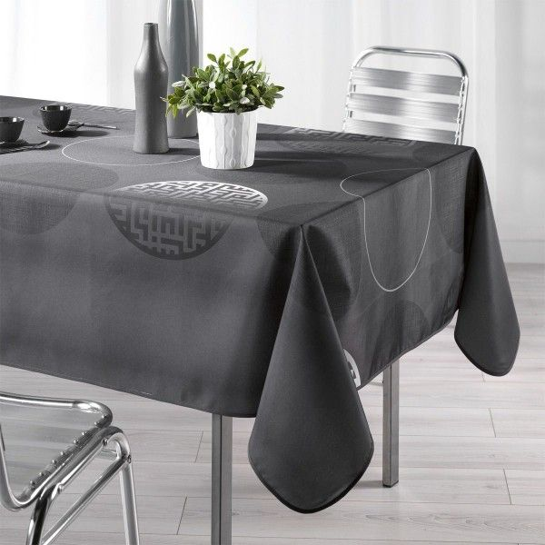 Nappe rectangulaire (L240 cm) Kosmo Anthracite