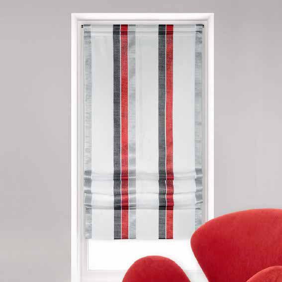 store voilage bateau 60 cm moderny rouge rideau. Black Bedroom Furniture Sets. Home Design Ideas