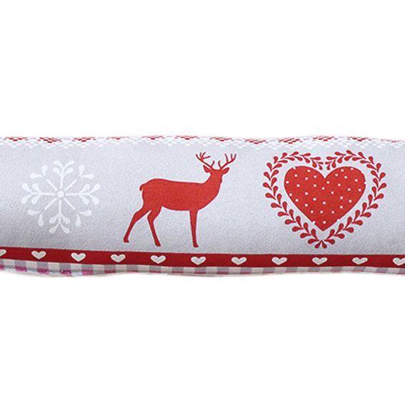 coussin bas de porte montagne rouge d co textile eminza. Black Bedroom Furniture Sets. Home Design Ideas
