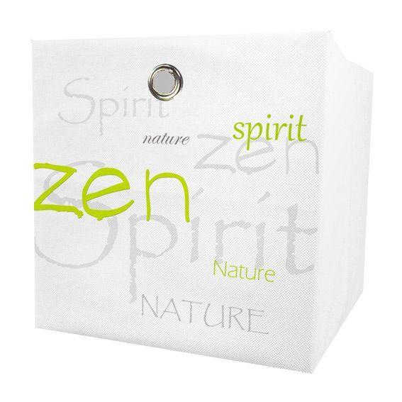 petit panier de rangement nature zen vert rangement eminza. Black Bedroom Furniture Sets. Home Design Ideas