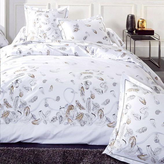 taie d 39 oreiller rectangulaire volant plumes percale taie d 39 oreiller traversin eminza. Black Bedroom Furniture Sets. Home Design Ideas