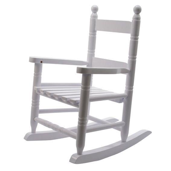fauteuil bascule pour enfant blanc. Black Bedroom Furniture Sets. Home Design Ideas