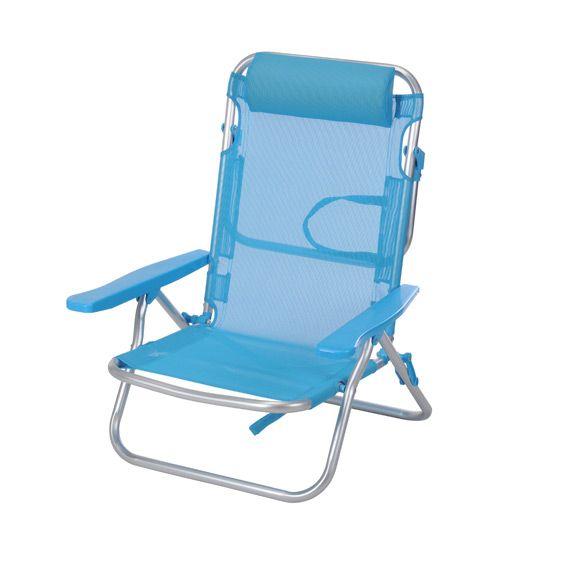 fauteuil de plage wenga bleu eminza. Black Bedroom Furniture Sets. Home Design Ideas