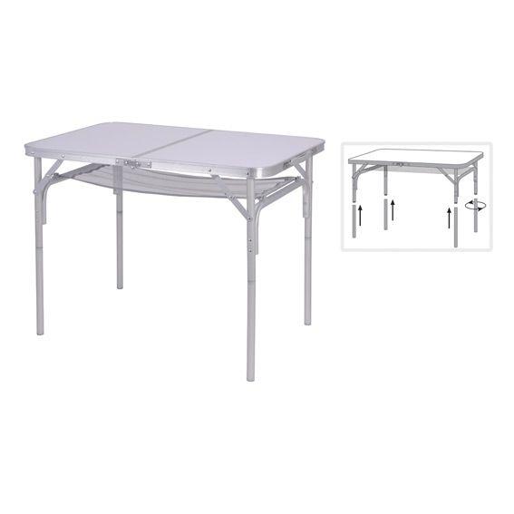 table de camping armelle blanc mobilier de camping et gonflable eminza. Black Bedroom Furniture Sets. Home Design Ideas