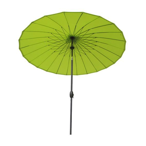 Parasol inclinable rond Boyeros (D260 cm) - Anis