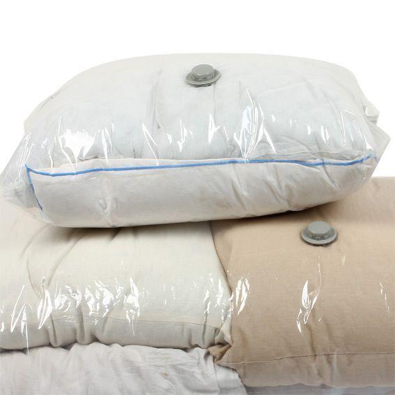 lot de 2 sacs de rangement sous vide linge de lit eminza. Black Bedroom Furniture Sets. Home Design Ideas