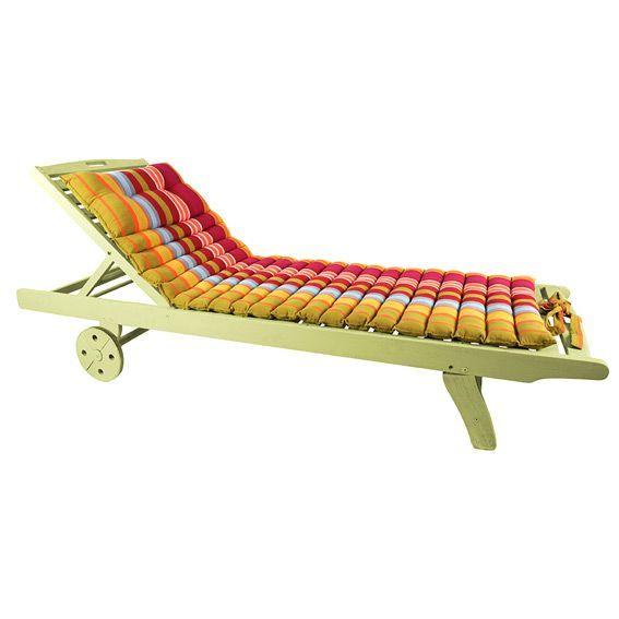 coussin bain de soleil silla multicolore. Black Bedroom Furniture Sets. Home Design Ideas