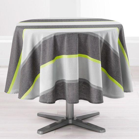 nappe de table vert linge de table eminza. Black Bedroom Furniture Sets. Home Design Ideas