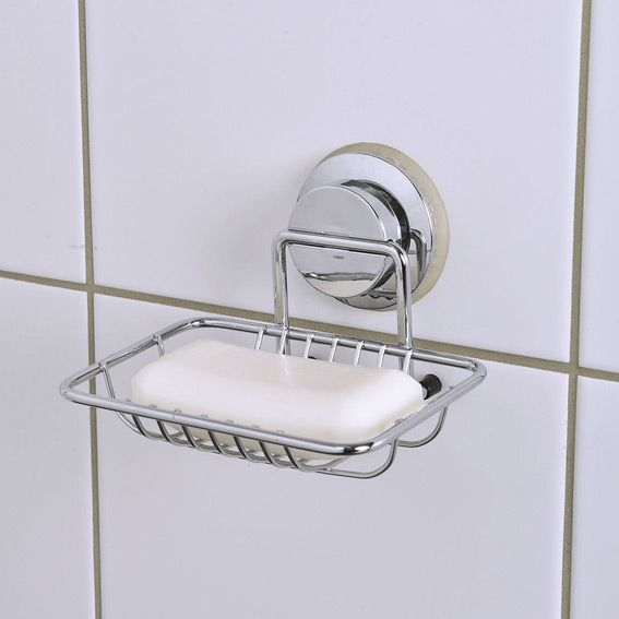 Porte-savon Ventouse Chrome