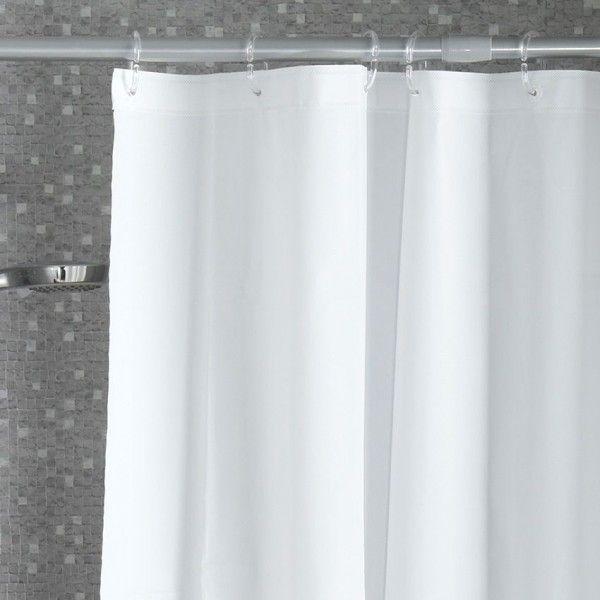 rideau de douche vita blanc accessoire douche baignoire. Black Bedroom Furniture Sets. Home Design Ideas
