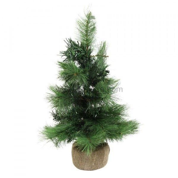 Sapin artificiel de table Cran-Montana H60 cm Vert sapin