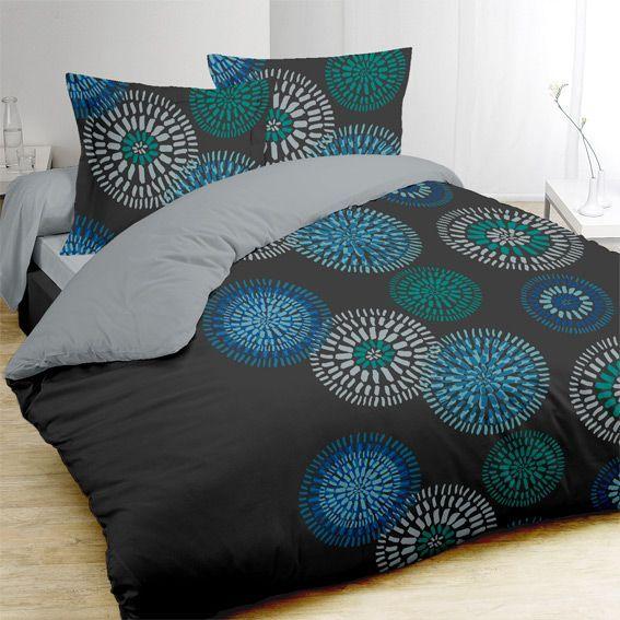 Housse de couette linge de lit eminza for Housse de couette basket ball