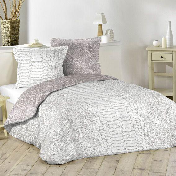 housse de couette 240 x 220 cm linge de lit eminza. Black Bedroom Furniture Sets. Home Design Ideas