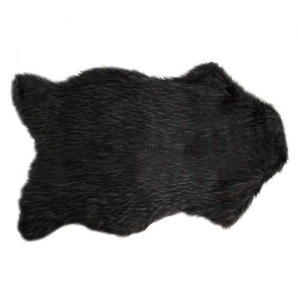tapis peau de b te imitation fourrure ours tapis eminza. Black Bedroom Furniture Sets. Home Design Ideas