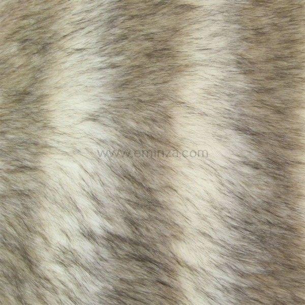 Tapis peau de bête imitation fourrure Loup - Tapis - Eminza