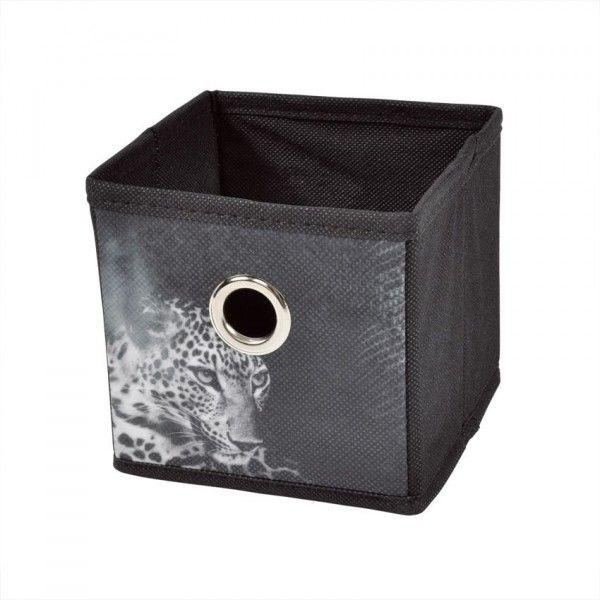 petit panier de rangement panth re rangement eminza. Black Bedroom Furniture Sets. Home Design Ideas