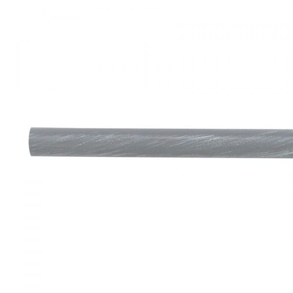 Tube fer forgé 1,50 m Gris patiné