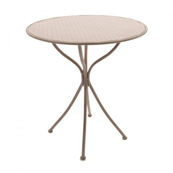Table de jardin l onie d70 cm rose doux table de - Table jardin rose ...