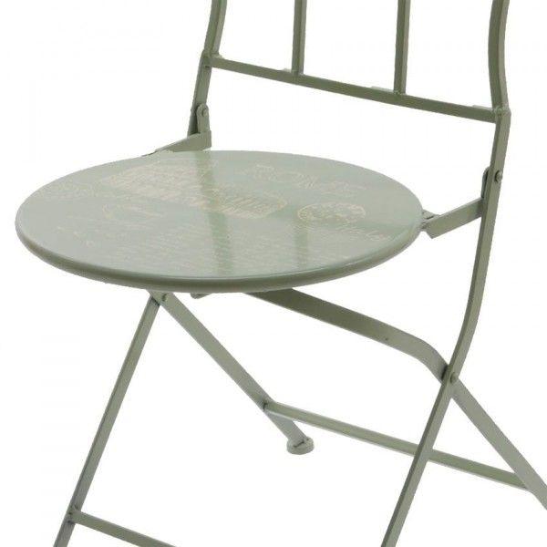 Gruppo di 2 sedie da giardino pieghevole roma salotto da for Arredo giardino roma