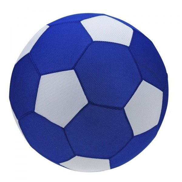 Ballon de foot gonflable Bleu