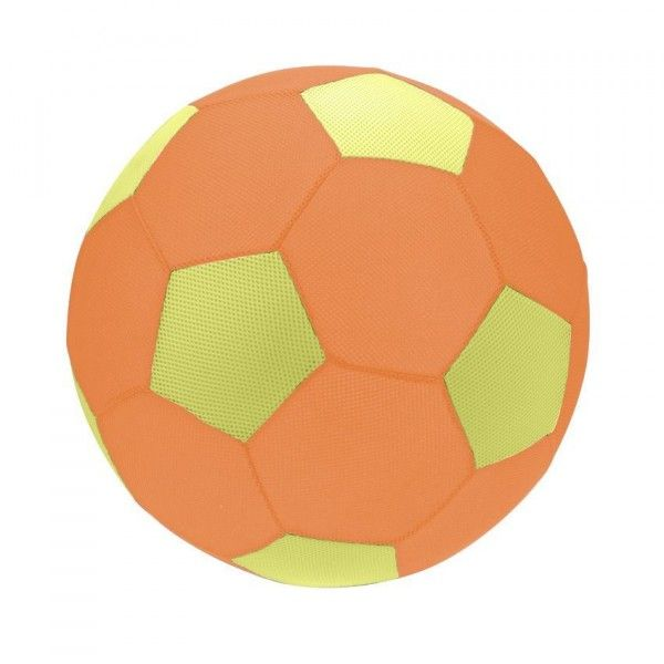 Ballon de foot gonflable Orange