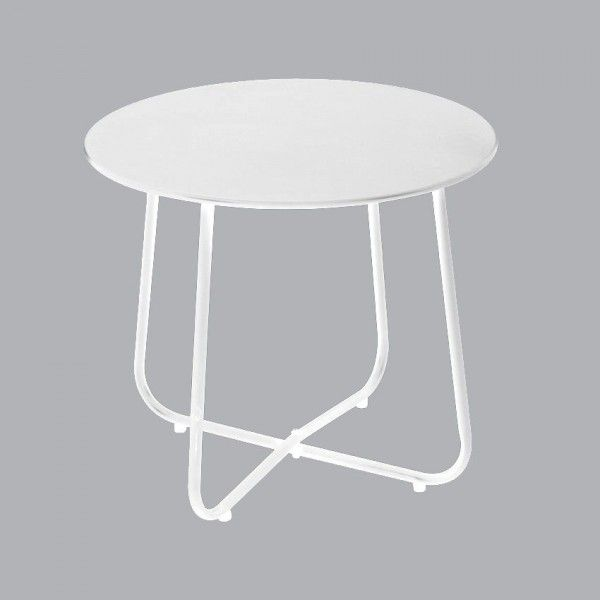 Table d'appoint Simeo Blanc