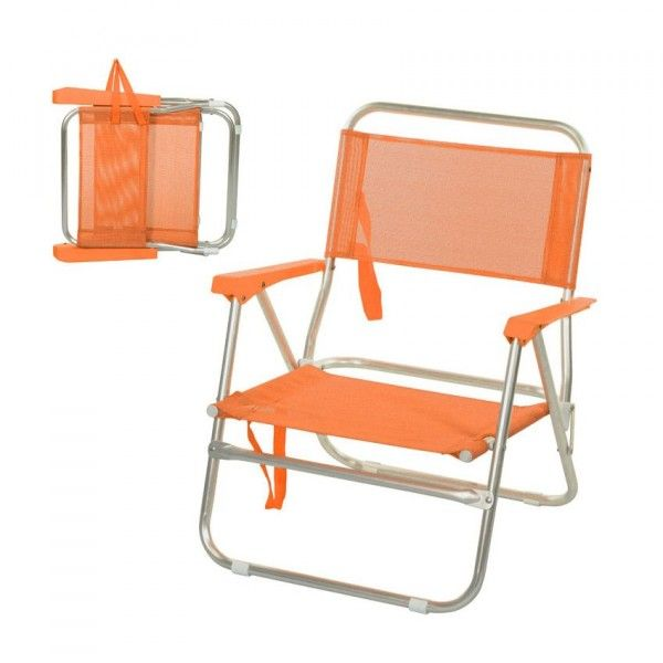 cale dos luxe orange mobilier de camping et gonflable eminza. Black Bedroom Furniture Sets. Home Design Ideas