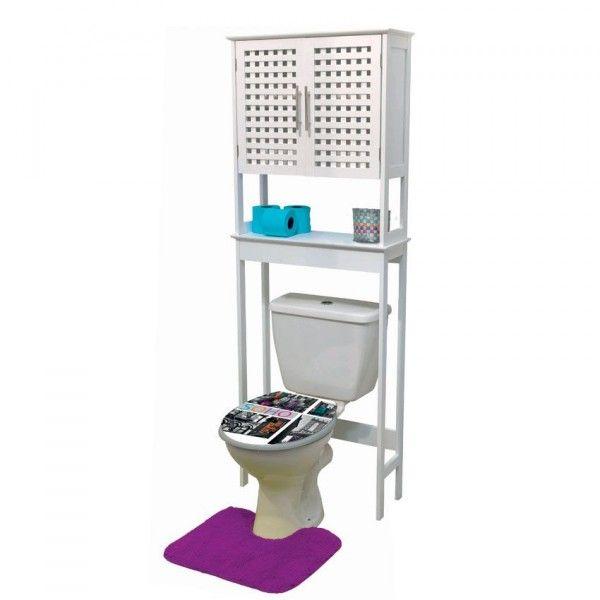 meuble dessus wc soho meuble de salle de bain eminza. Black Bedroom Furniture Sets. Home Design Ideas