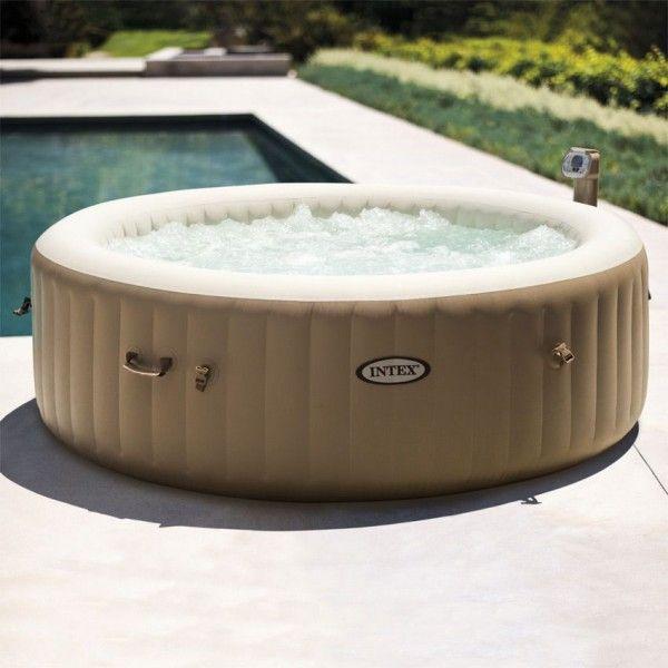 spa bulles 6 personnes beige intex piscine spa et. Black Bedroom Furniture Sets. Home Design Ideas