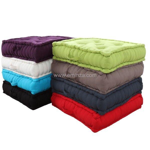 grand coussin de sol 60 cm etna vison d co textile. Black Bedroom Furniture Sets. Home Design Ideas