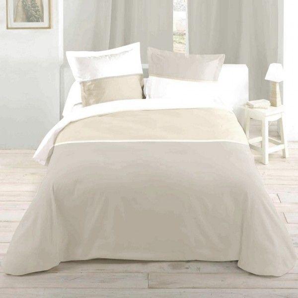 housse de couette 260 x 240 cm linge de lit eminza. Black Bedroom Furniture Sets. Home Design Ideas