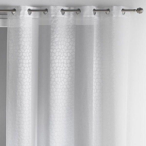 voilage h 260 300 cm rideau et voilage eminza. Black Bedroom Furniture Sets. Home Design Ideas