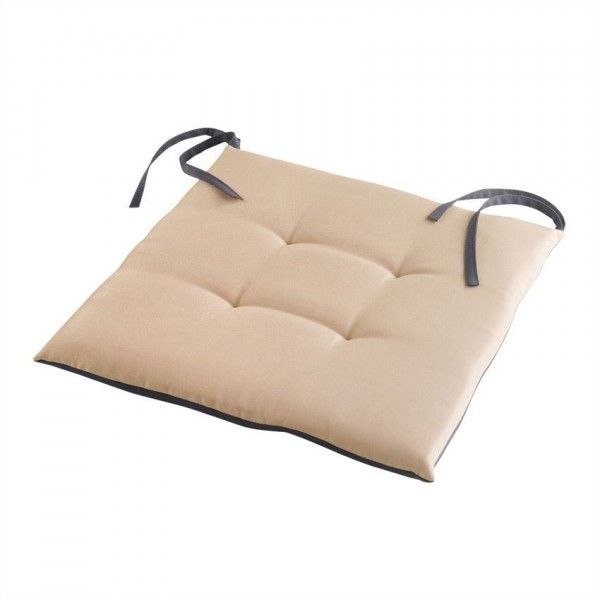 Coussin de chaise Garden duo - Taupe/anthracite