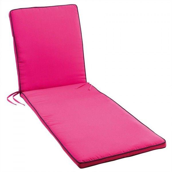 coussin de bain de soleil rose coussin et housse de protection eminza. Black Bedroom Furniture Sets. Home Design Ideas