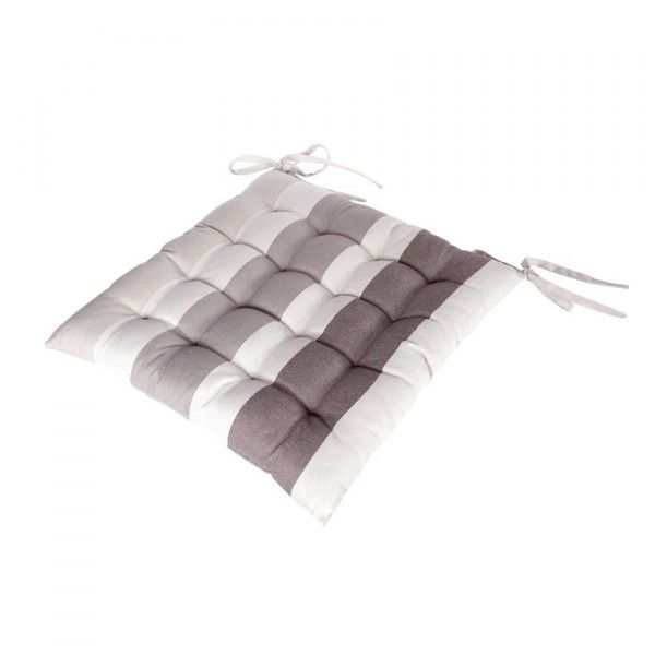 galette et coussin de chaise coussin et galette 2 eminza. Black Bedroom Furniture Sets. Home Design Ideas