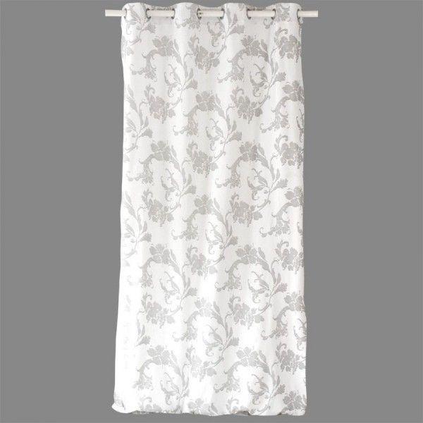 Rideau (140 x H240 cm) El�gance Blanc