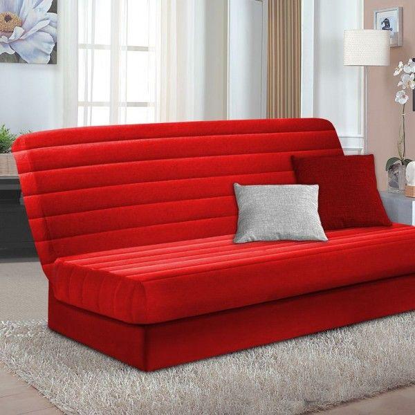 Housse de clic clac housse de canap chaise eminza for Housse clic clac rouge