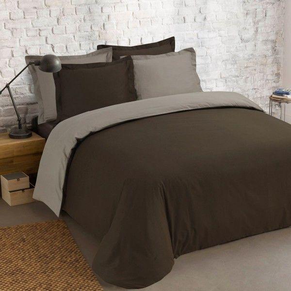 Housse de couette 260 x 240 cm linge de lit eminza - La redoute linge de maison housse de couette ...