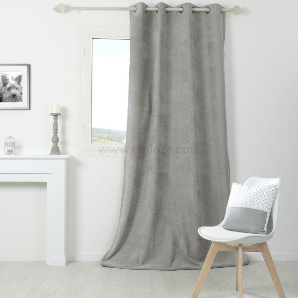rideau thermique et isolant rideau et voilage eminza. Black Bedroom Furniture Sets. Home Design Ideas
