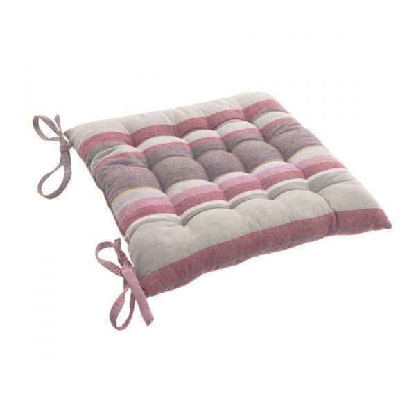 galette et coussin de chaise rose coussin et galette. Black Bedroom Furniture Sets. Home Design Ideas