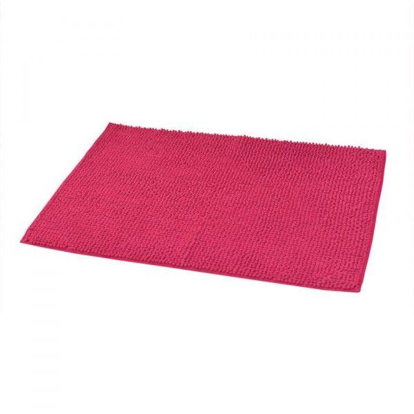tapis de bain rose eminza