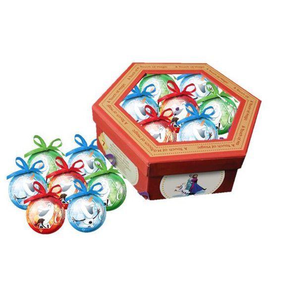Coffret de 7 boules de no l disney olaf boule et d co de - Boule noel disney ...