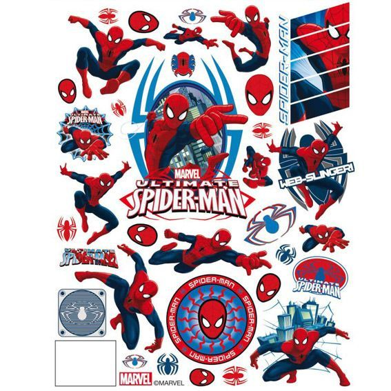 Vitrostatique Disney Spider-man Spider-man