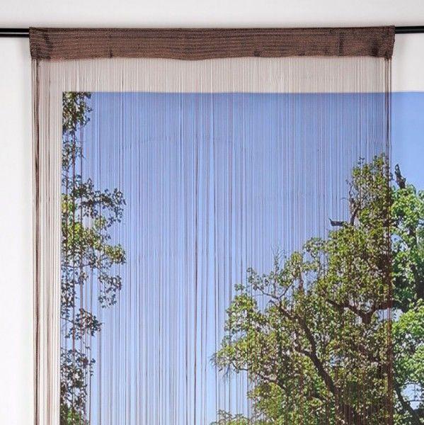 rideau de fil rideau et voilage eminza. Black Bedroom Furniture Sets. Home Design Ideas