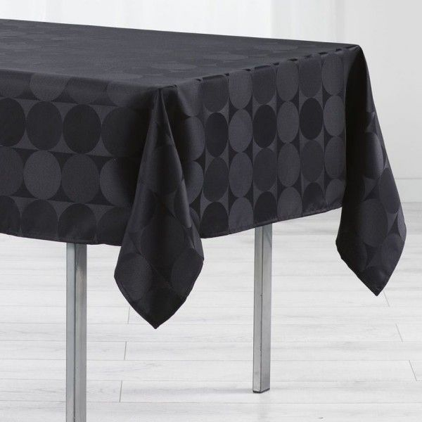 Nappe De Table Noir Linge De Table Eminza