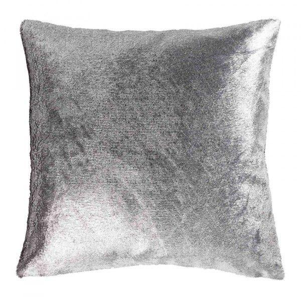 housse de coussin su de velours gris coussin et housse de coussin eminza. Black Bedroom Furniture Sets. Home Design Ideas