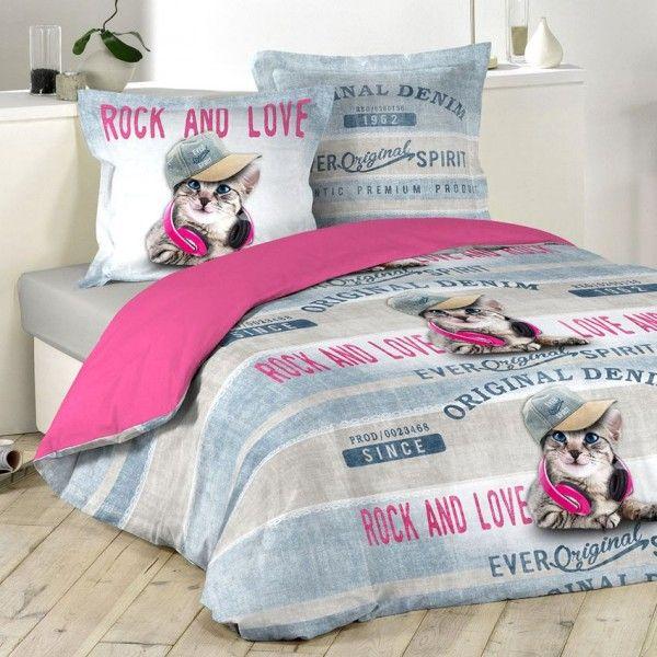 bettw sche 240 cm girly cat bettwaren eminza. Black Bedroom Furniture Sets. Home Design Ideas