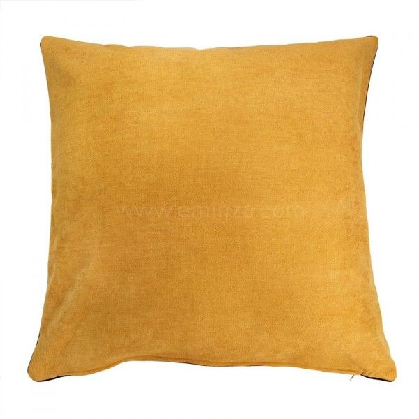 coussin et housse de coussin jaune coussin et galette eminza. Black Bedroom Furniture Sets. Home Design Ideas